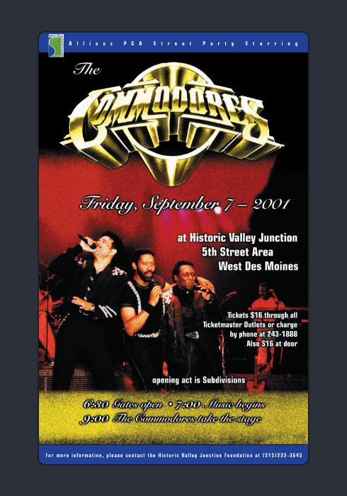 Commodores poster