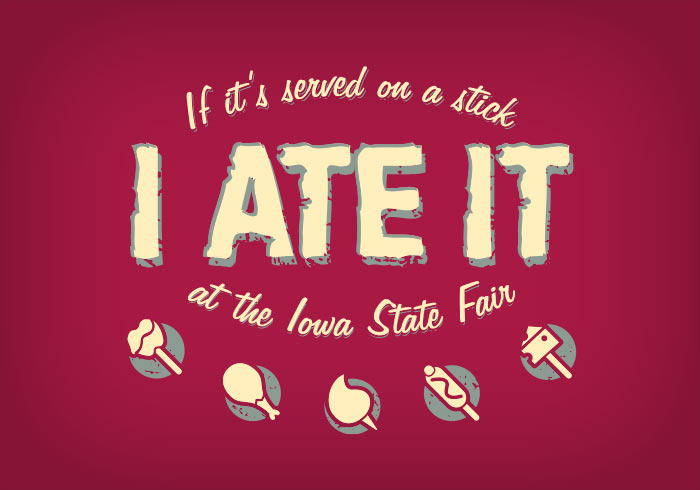 I Ate It Tshirt, created by Chris Mattingly Design